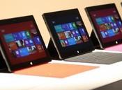 Surface Microsoft, démo vente Galeries Lafayette...