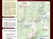 Panoramique Dômes durant investigations, chemin Chèvres vous attend pour accéder Puy-de-Dôme