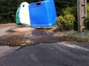Grosse fuite d'eau stade enfin réparation (1er partie)...
