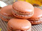 Laure Macarons épicés fourrés ganache chocolat blanc potiron.