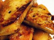 Foie gras poêlé pommes (idée pour réveillon