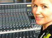 Dido studio d'enregistrement pour nouvel album.