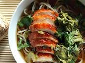Soupe chinoise poulet laqué