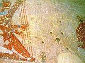Salle vitrine peintures mastaba metchetchi harpes cintrées moyen nouvel empires