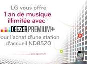 Jusqu'à musique Deezer offert pour l'achat d'une station d'accueil