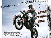 Enduro Téléthon Moto Club Baraganes (33) dimanche décembre 2012