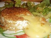 Petit camembert croustillant miel