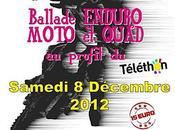 Ballade Enduro Moto Quad Téléthon Germain teil (48) décembre 2012