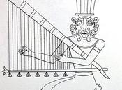 Salle vitrine peintures mastaba metchetchi harpes angulaires