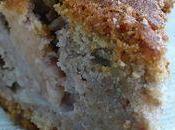Gâteau rustique d'automne (pommes, miel, noix)
