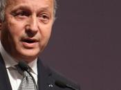 Laurent Fabius: position constante France reconnaître l'Etat palestinien»