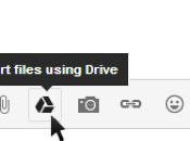 Google Drive s'intègre Gmail pour l'envoi pièces jointes