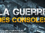 guerre consoles jeux vidéos infographie