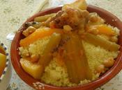 Couscous Cardons Sauce rouge Recette Ratiba
