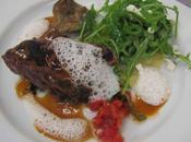 Côtes marcassin grillées, poivres exotiques ravioles bettes
