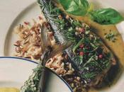Maquereaux herbes fines, sauce moutarde poivre vert fleur Guérande