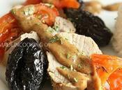 Filet mignon rôti pruneaux d'Agen sauce crémeuse