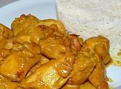 Poulet curry cacahuète