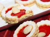 Mini tartelettes confiture cerises idée cadeaux Noël)
