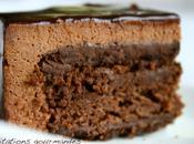 Gâteau chocolat façon grand conticini (essai