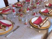 [Spécial fêtes] Table noël d'or table d'argent Xmas tables gold silver