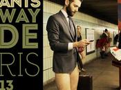 Pants Subway Ride Paris janvier