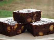 Brownie tofu soyeux caroube