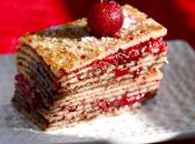 Mille Feuilles crepes Griotte Banania