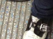 Street style: paillettes dans métro