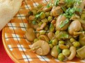 Fèves petits pois sauce (Algérie)