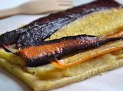 Tartes fines betteraves crapaudines, carottes anciennes rôties purée panais recettes