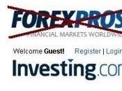 Forexpros devient Investing.com pour 2.45 millions dollars