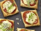 Minis pizzas aperitives bresse bleu