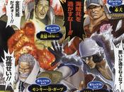 Akainu, Kuzan, Kizaru Monkey Garp, annoncés dans Piece Pirate Warriors