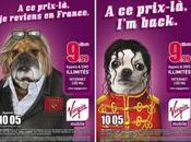 campagne Virgin Mobile fait référence Gérard Depardieu Michael Jackson...
