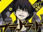 Chara Design l'anime Blood Lad, rélévé