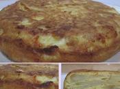Tortilla espagnole pomme terre sans gluten.
