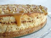 Cheese cake banane caramel beurre salé