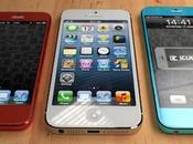 Concept d'un iPhone low-cost plusieurs coloris