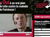 Maladie Parkinson pétition pour détresse besoins malades soient enfin entendus