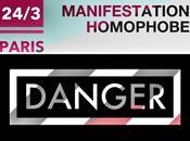 ATTENTION Manifestation homophobe 24/3