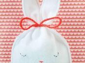 petits sachets lapins pour Pâques