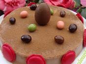 Gâteau glacé Pâques