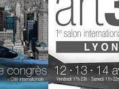 Stéphan Venekas expose salon international d'art contemporain Lyon