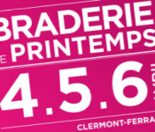 braderie Printemps Clermont-Fd vous attend avril