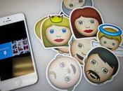 Stickers Emoji votre iPhone...