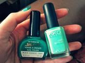 L'onglerie Emeraude Turquoise