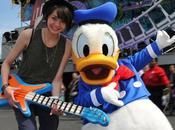 PHOTO Sophie-Tith (Nouvelle Star) mode Donald Disneyland Paris