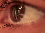 musique, yeux dans