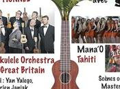 Ukulele Orchestra arrive week-end